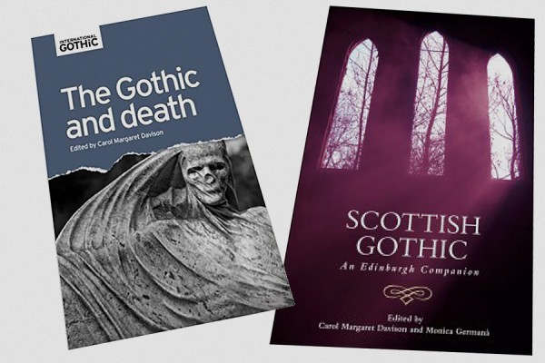 Covers of books on the Gothic edited by Carol Davison