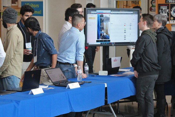 Students from the School of Computer Science presented their projects to the campus community and key industry members Friday.
