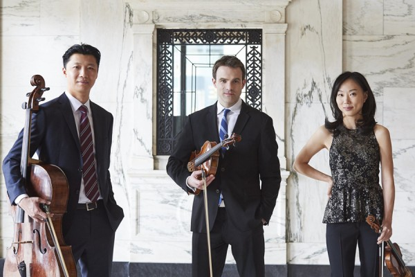 Wei Yu, Eric Nowlin, and Yoonshin Song of the DSO Trio