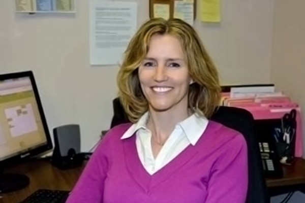 Sue Brunet, owner of Ergonow Ergonomic Solutions