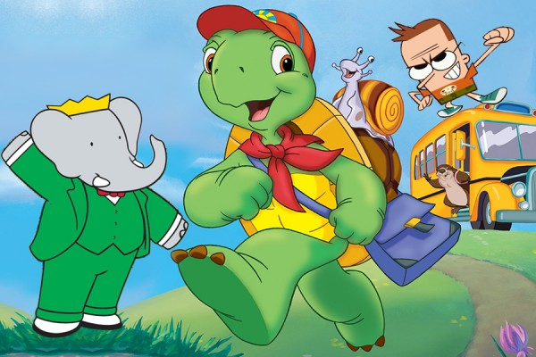 images of Babar, Franklin, and Sidekick