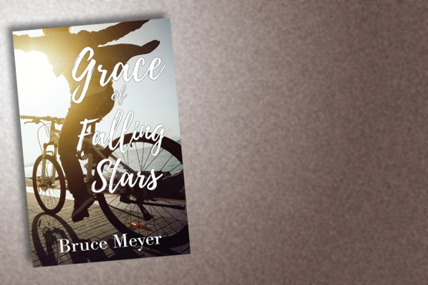 "book cover, ""Grace of Falling Stars."""