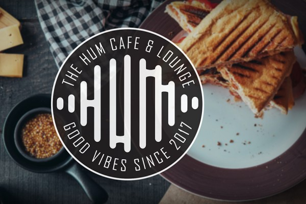 The Hum Café and Lounge logo