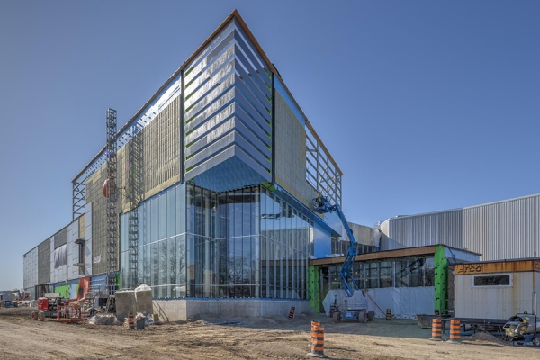 photo of exterior of Lancer Centre