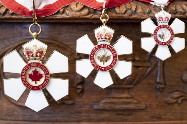 medals of the Order of Canada