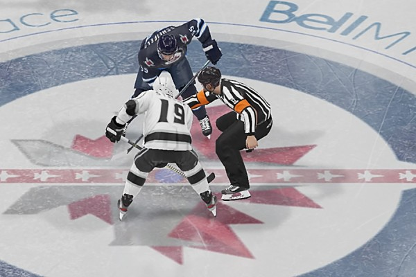 Face off in NHL 21