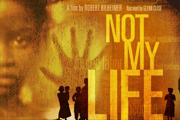 Not My Life poster imagery