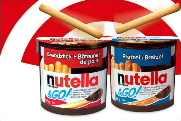 Nutella and Go packs