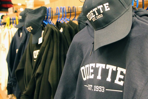 "sweatshirts saying ""Odette"""