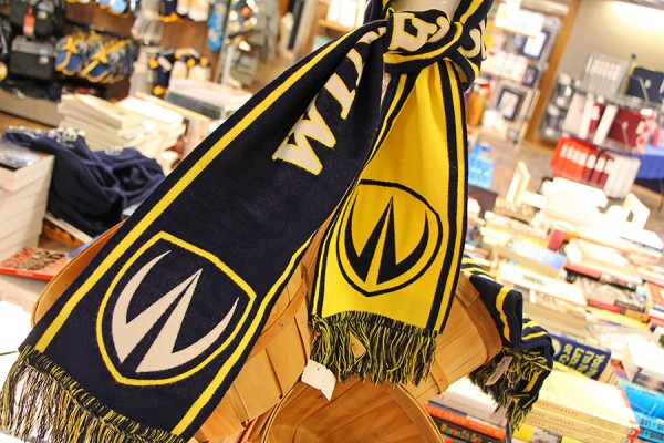 A Windsor Lancers scarf is just one of the gift ideas recommended by campus experts.