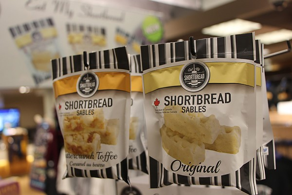 Indulge in a package of shortbread from the Campus Bookstore.