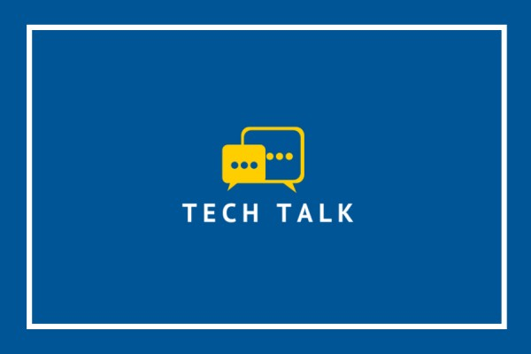 "graphic labelled ""Tech Talk"""