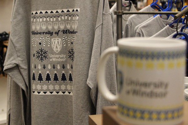 """Ugly Christmas"" long-sleeve T-shirt and mug"