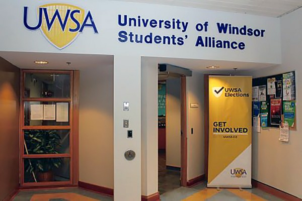 entrance to UWSA offices
