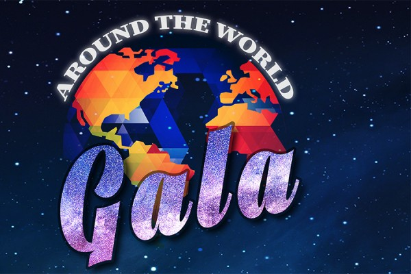 Around the World gala artwork