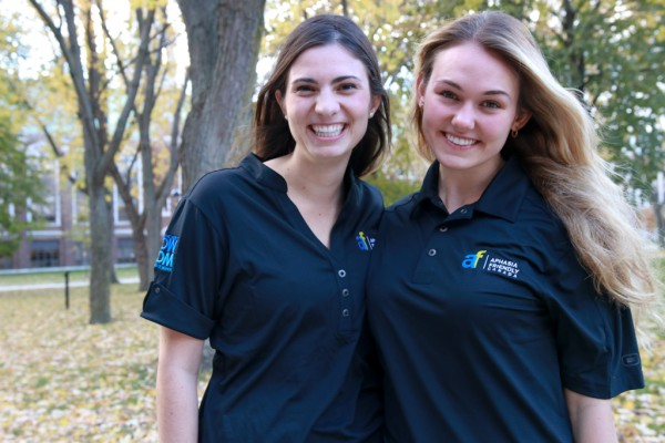 Julia Borsatto, UWindsor clinical neuropsychology graduate student, and Laura Pineault (B.Sc. 2016) are associate directors of Aphasia Friendly Canada.