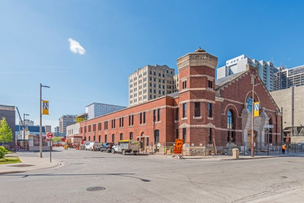 The University of Windsor's new School of Creative Arts in the former Windsor Armouries is pictured in May 2018.