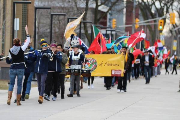 The University of Windsor's Celebration of Nations will return to campus on Thursday, March 14, 2019.