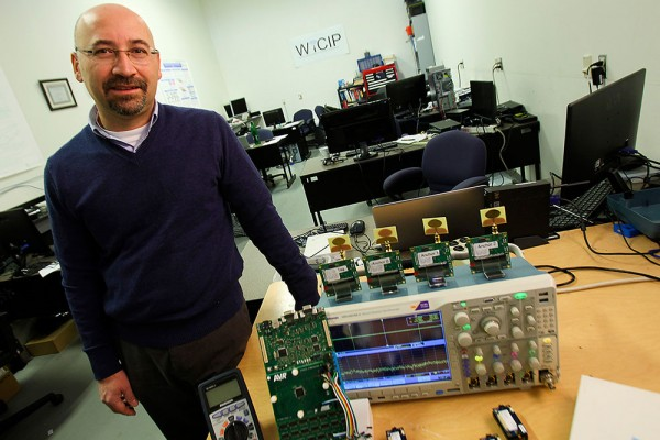 University of Windsor engineering professor Kemal Tepe is pictured in the Wireless Communication and Information Processing Lab.