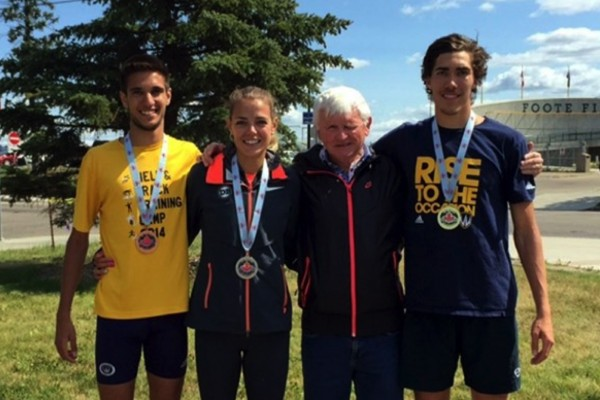 The Lancer track and field program excelled at the 2015 Canadian Track and Field Championships.