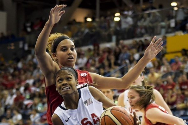 UWindsor alum Miah-Marie Langlois claims Pan Am Gold. Photo courtesy of Jim Parker, The Windsor Star.