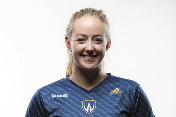 Lancer volleyball all-star Lexi Pollard has signed a professional volleyball contract and will play overseas with the AO Markopoulo Revoil this season