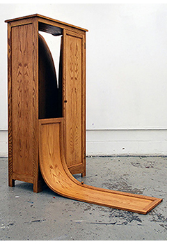"Lucy Howe's ""Wardrobe"" is one of two artworks she is exhibiting at the Koffler Centre of the Arts in Toronto."