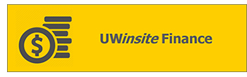 UWinsite Finance button