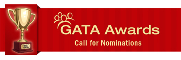"Trophy labelled ""Best GATA"""
