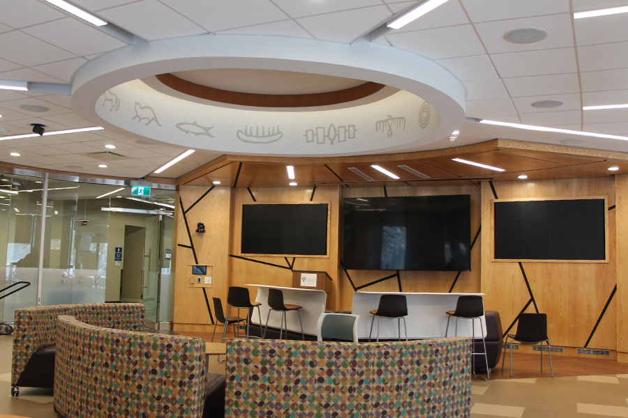 Student Research Collaboratory in Leddy Library