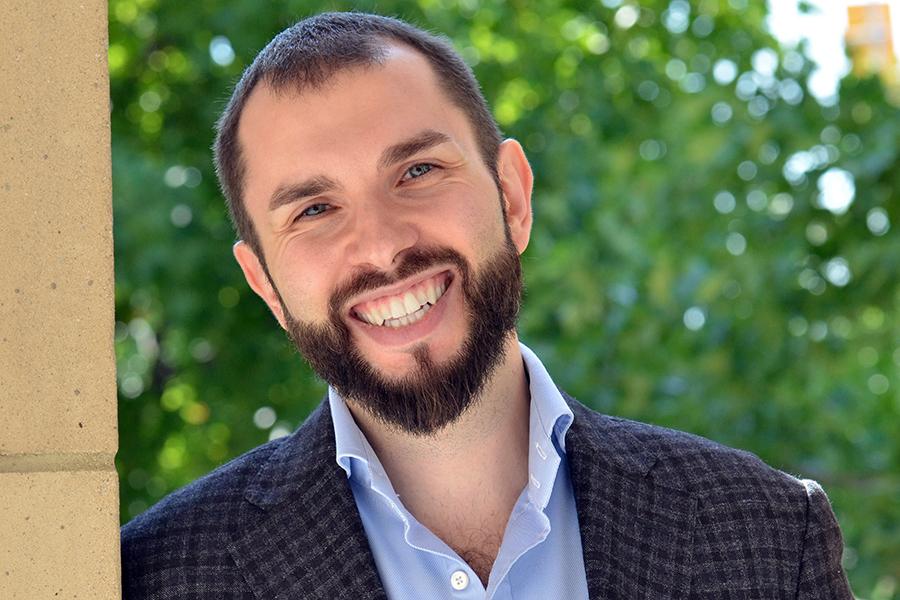 Business professor Max Ganzin