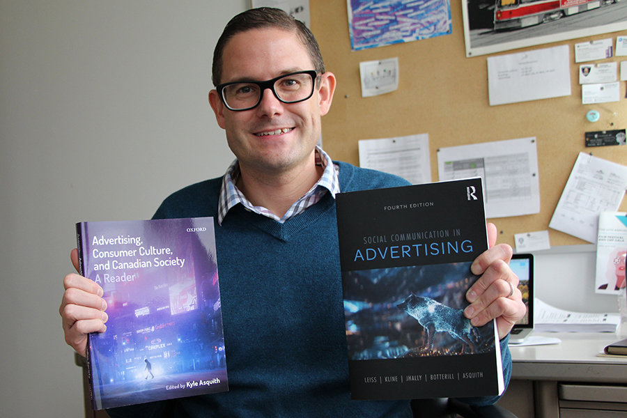 It has been a big year on the publishing front for UWindsor professor Kyle Asquith holding two books he published this year.