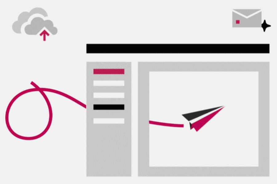 graphic illustrating video workflow