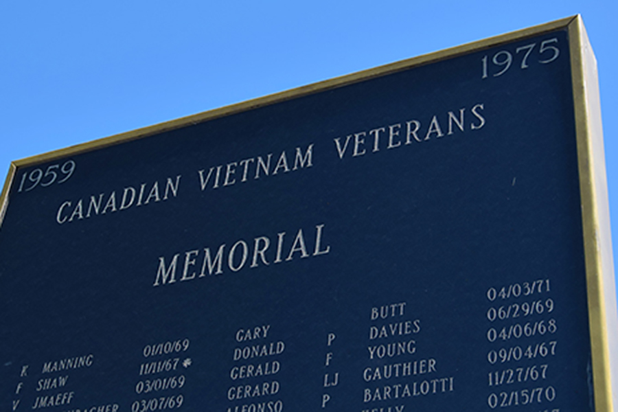 Canadian Vietnam Veterans Memorial
