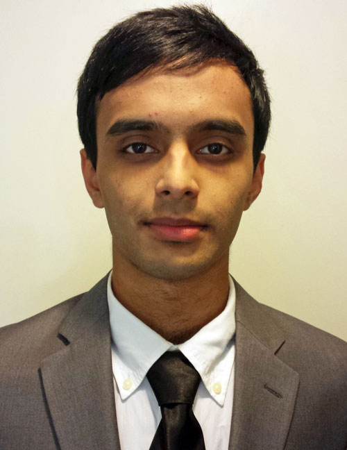 Adib Shamsuddin has been offered a scholarship by the Ontario Society of Professional Engineers