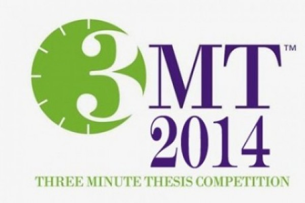 You can vote for the People's Choice in the national round of the Three Minute Thesis competition.