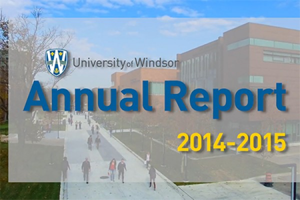University of Windsor annual report