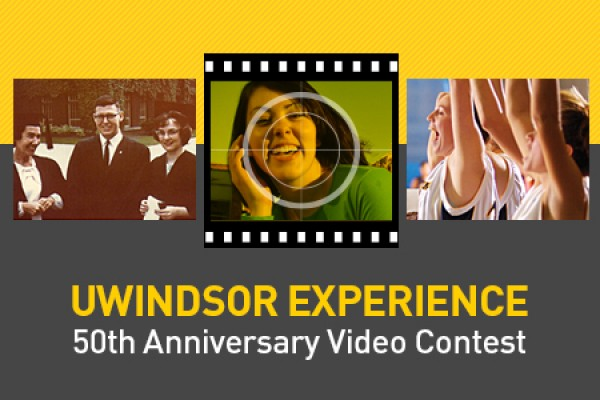 A contest invites submissions of short videos on the UWindsor experience.
