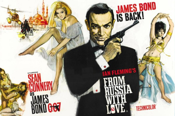 "poster, ""From Russia with Love"""