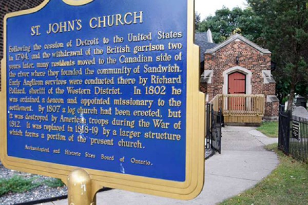 St. John's Anglican Church, a heritage site