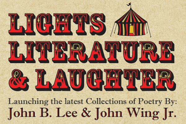 """Lights, Literature & Laughter"""