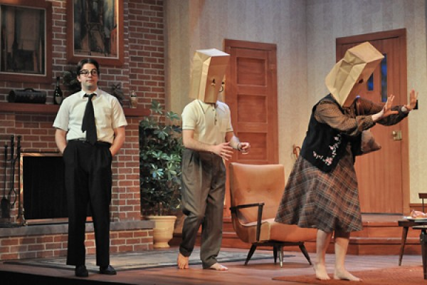 "University Players production of ""The Nerd"""