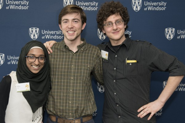 Nabila Sharieff, Matthew Steckle and Daniel Tarade