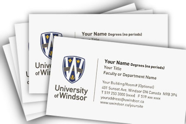Print Shop Offering Discount On Uwindsor Business Cards Dailynews
