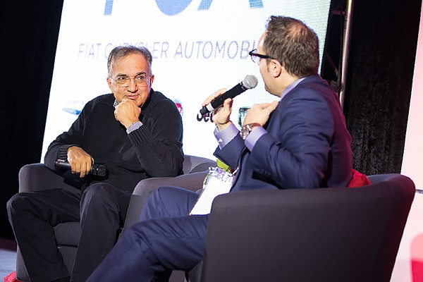 Sergio Marchionne, Vincent Georgie