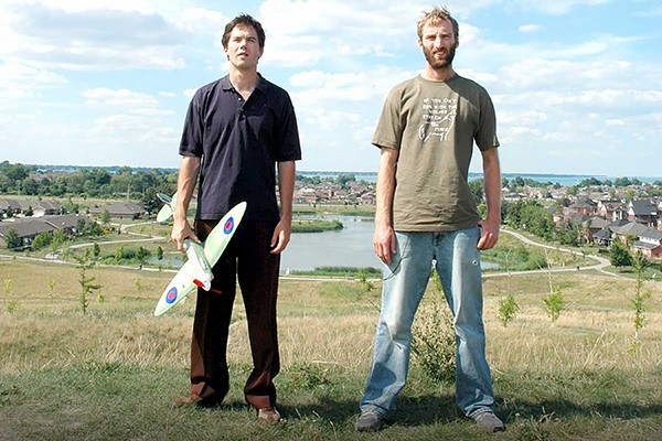 Mike Stasko and Daniel Wilson in an image from the 2006 feature Things to Do.