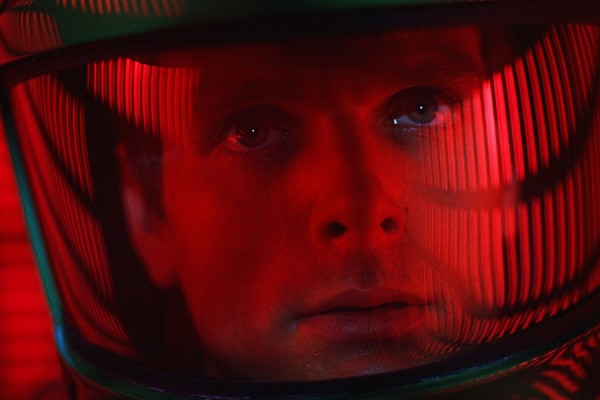 Astronaut from film 2001: A Space Odyssey