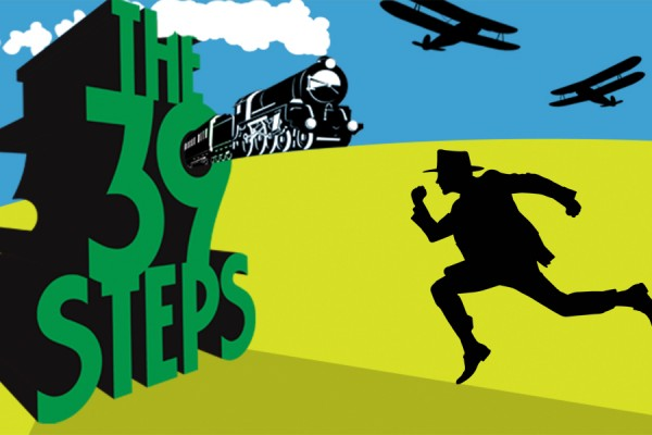 image from 39 Steps poster