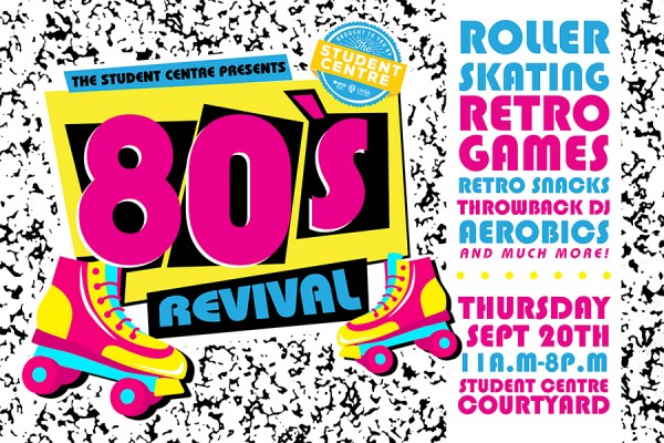 Graphic: '80s Revival