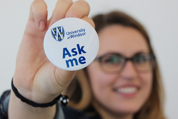 """Ask Me"" button"
